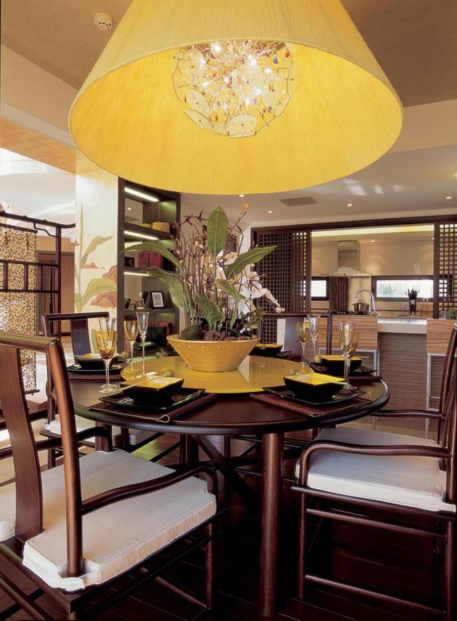 新中式风格别墅室内设计装修图
