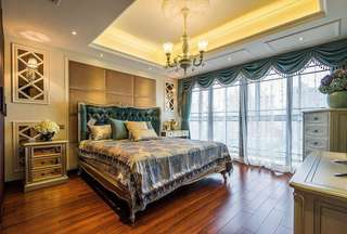 奢华精美欧式风格卧室效果图大全欣赏