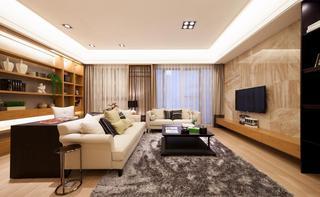 淡雅朴素日式公寓设计装修