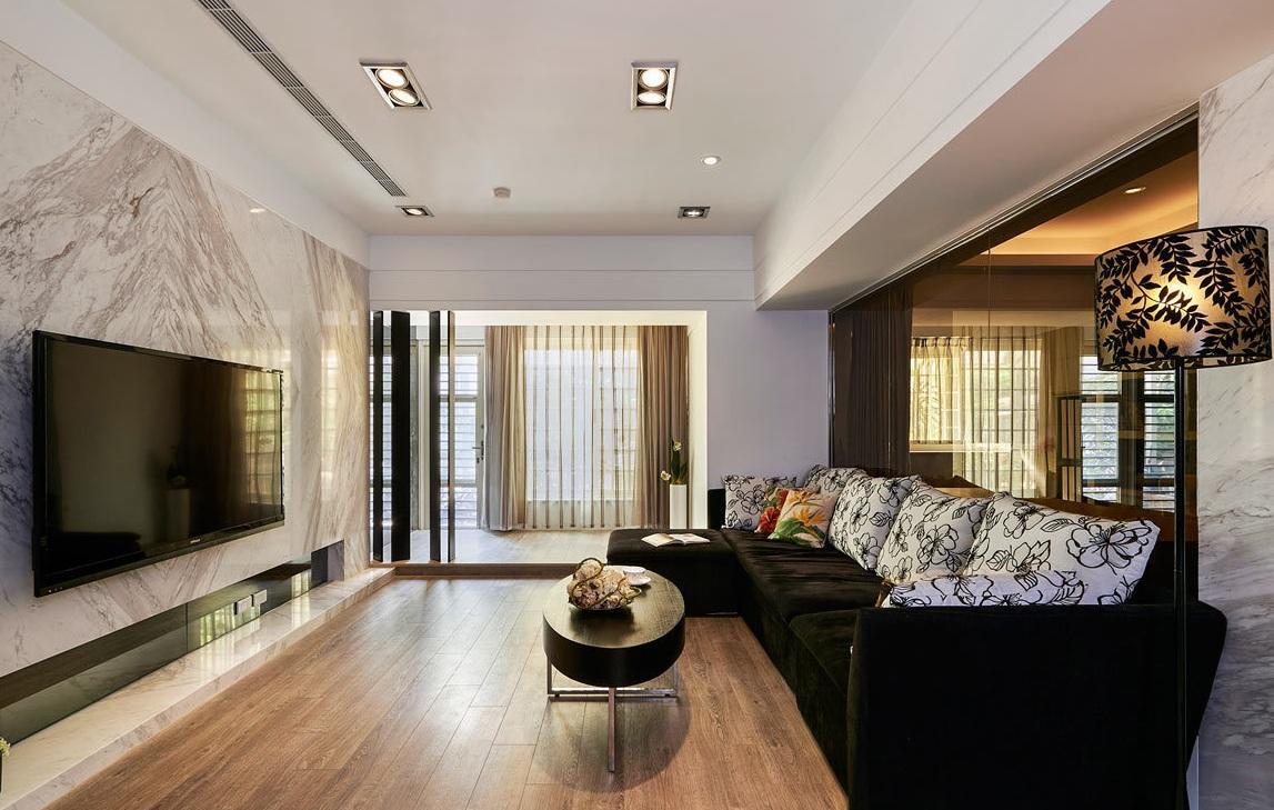 现代时尚家装室内隔断设计装潢图片