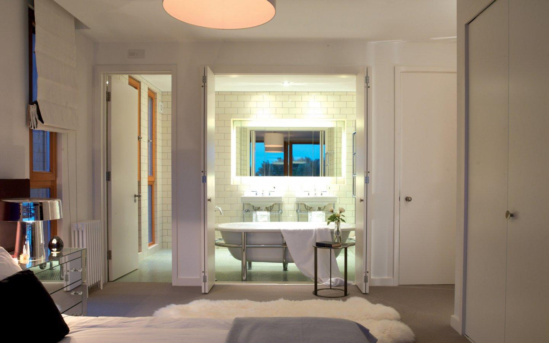 现代简约个性卫生间浴室效果图