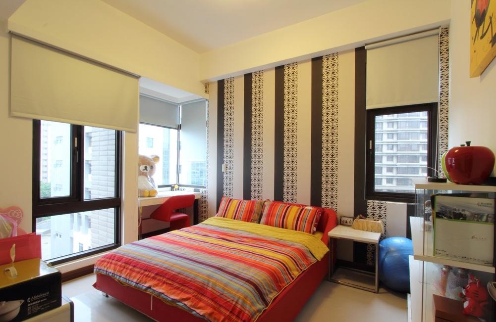 靓丽简约卧室设计装潢案例图