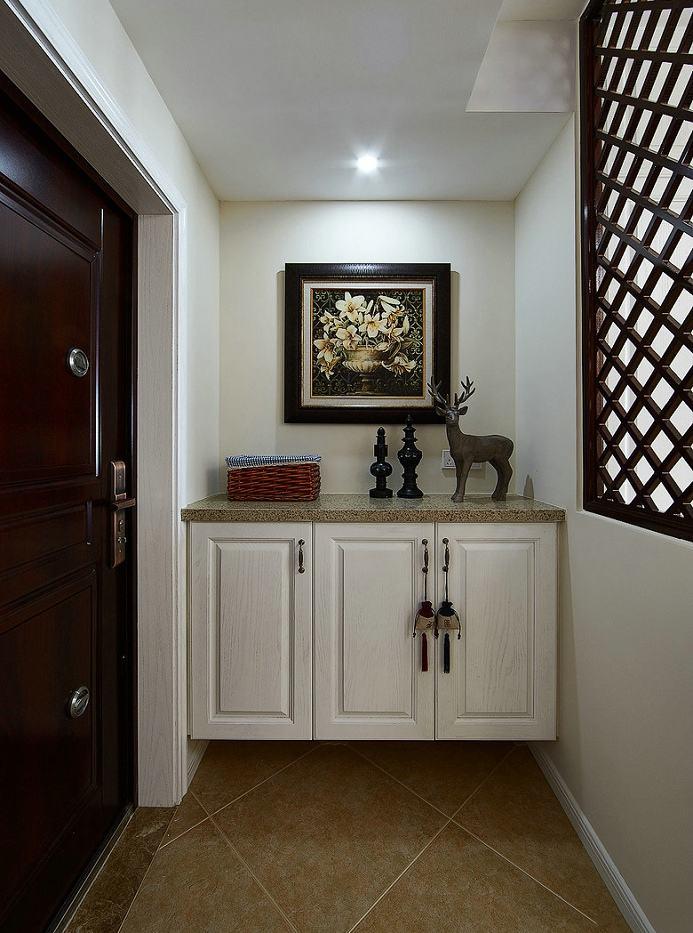 精致优雅美式玄关柜装饰大全