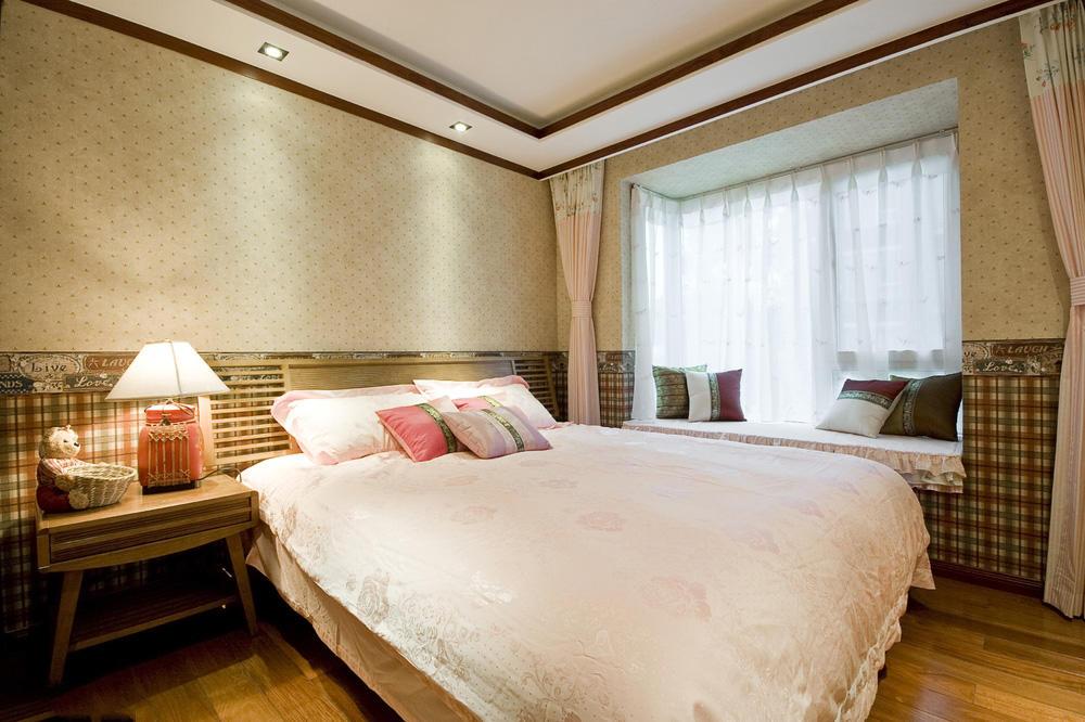 优雅复古东南亚装修卧室效果图大全