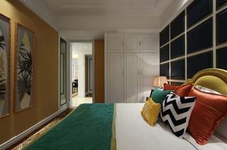 时尚美式新古典装修卧室效果图大全