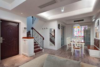 50平温馨简约宜家风格复式楼装修设计欣赏