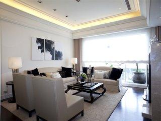 时尚现代设计装修两室两厅装潢案例图
