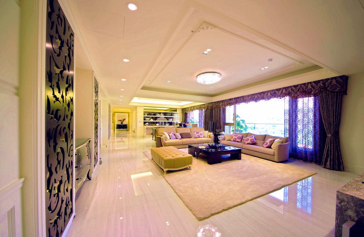 大气欧式别墅室内设计装修图片