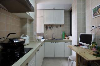 美式厨房橱柜装饰欣赏图