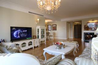 13万打造浪漫暖色系精致欧式三室两厅装潢大全