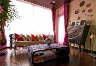 精致浓郁东南亚风情三居家装设计效果图