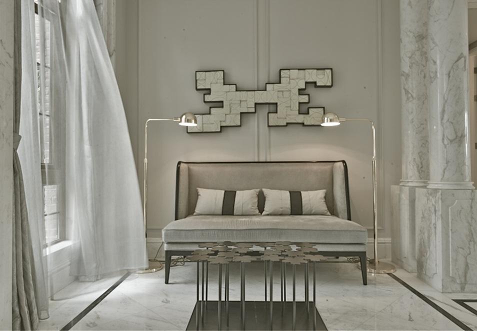 素雅华丽新古典风格别墅卧室设计图