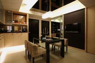 摩登时尚现代家居餐厅设计装修图