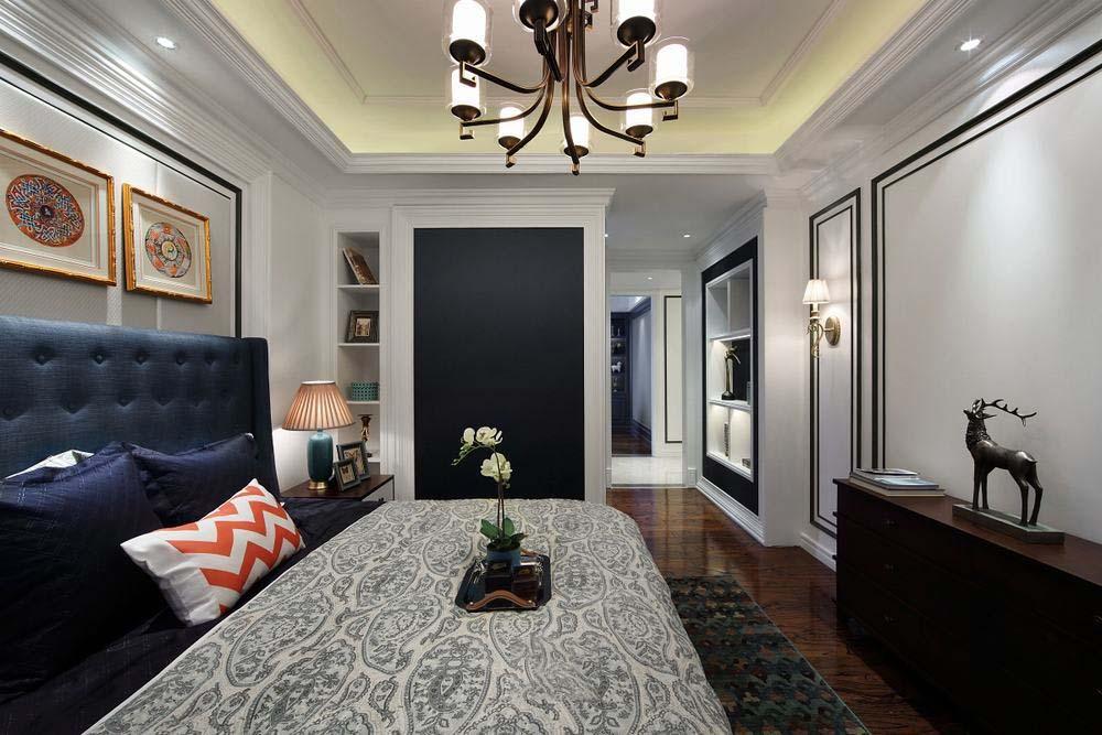 奢华精致现代美式设计卧室效果图大全