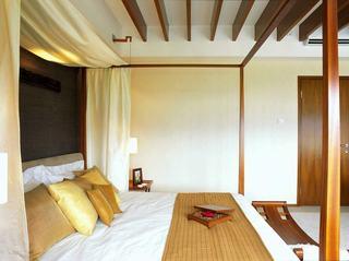 简约复古东南亚家装卧室双人床大全