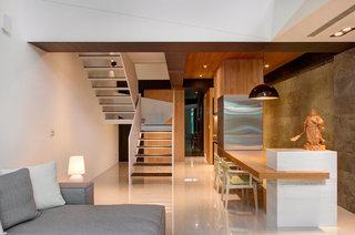 现代简约复式室内楼梯设计装修图