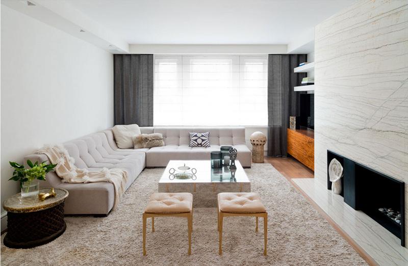 130平米北欧现代风格公寓装修图片
