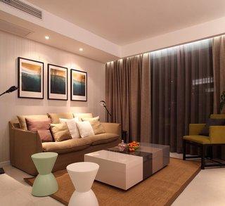 简约温馨小户型公寓室内装修图片