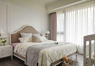 优雅浪漫简约美式卧室装修大全