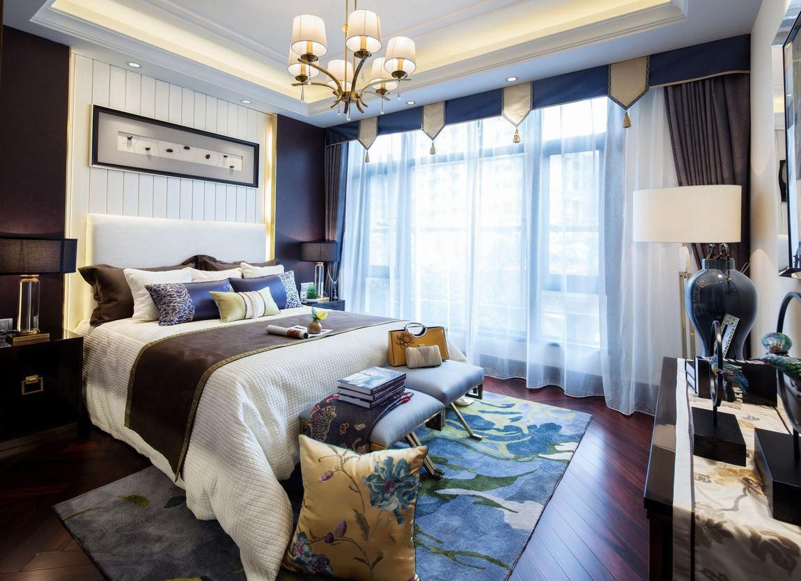 时尚优雅美式别墅卧室装饰大全