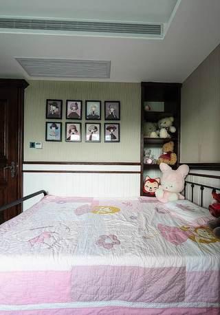 粉色可爱宜家儿童房装饰效果图