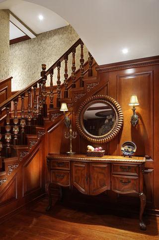 古典奢华美式风格别墅梳妆台装饰图