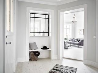 极简北欧风格玄关鞋凳设计
