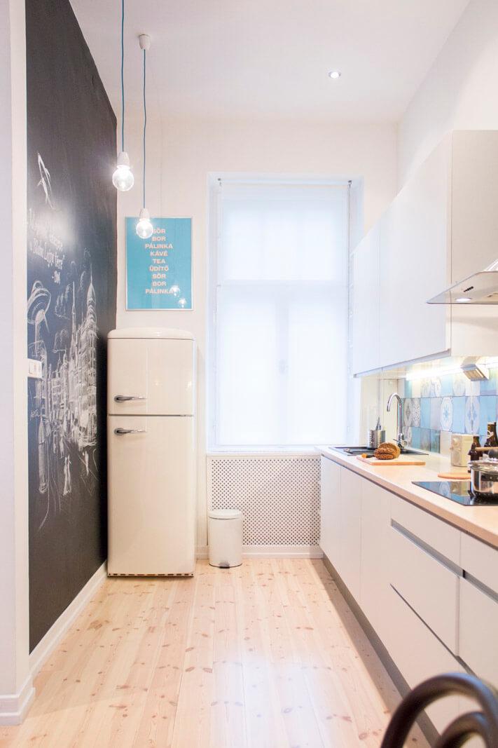 清新北欧风格厨房装修设计图