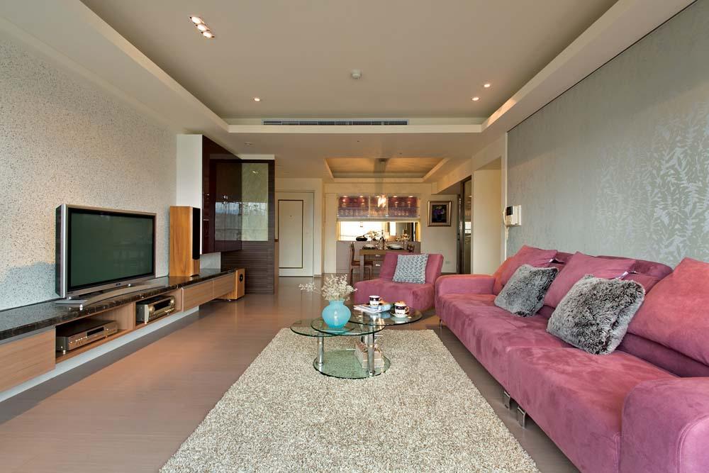 简约现代设计客厅效果图大全