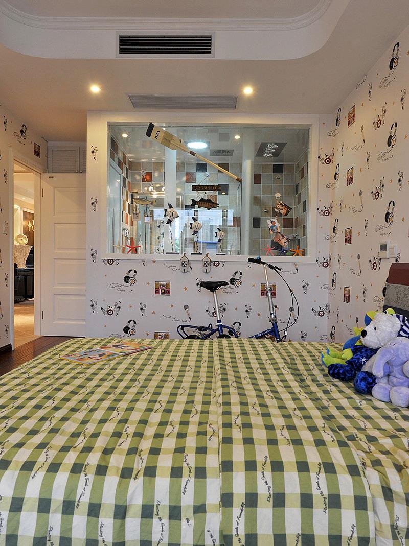 可爱欧式田园风设计儿童房图片