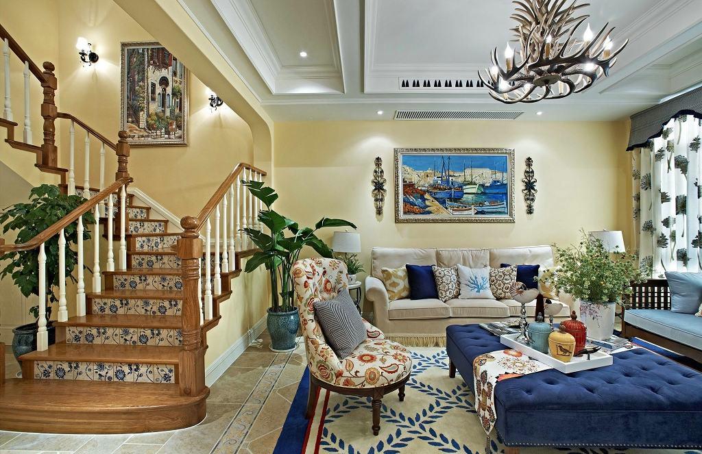 风雅浪漫欧式现代风别墅室内装修欣赏图片