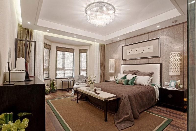 120平时尚现代大二居室内装修美图欣赏