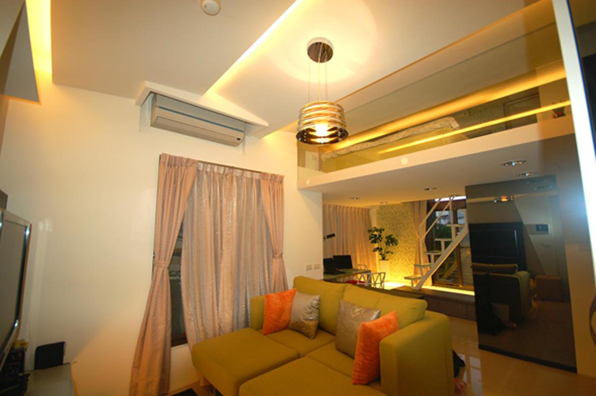 现代复式楼小客厅家居设计大全