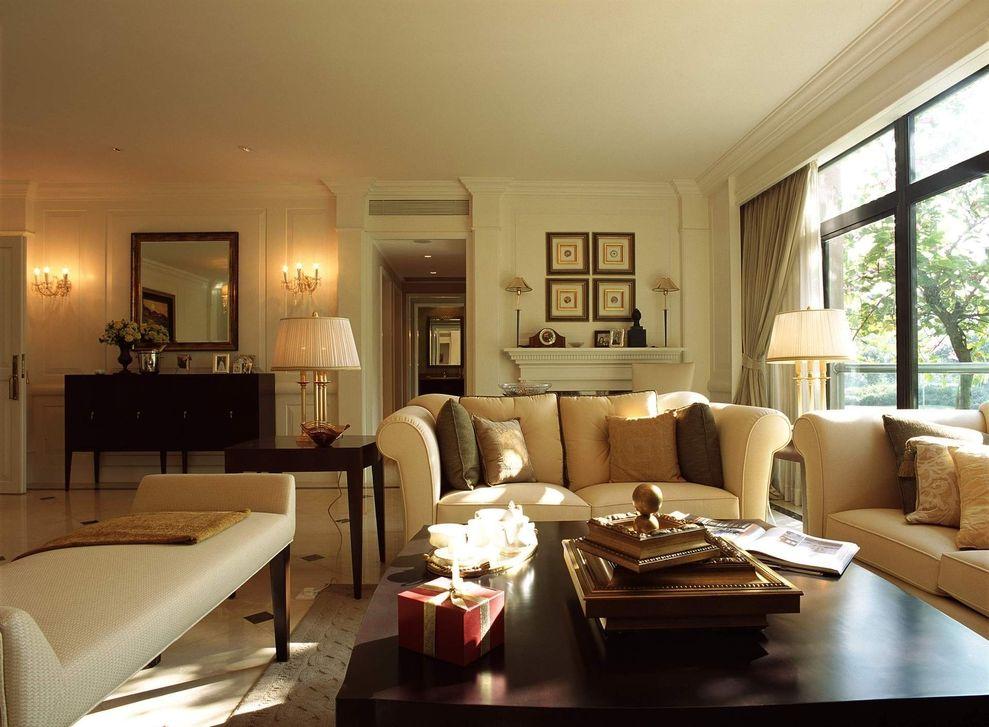 时尚复古简欧公寓室内设计装修美图