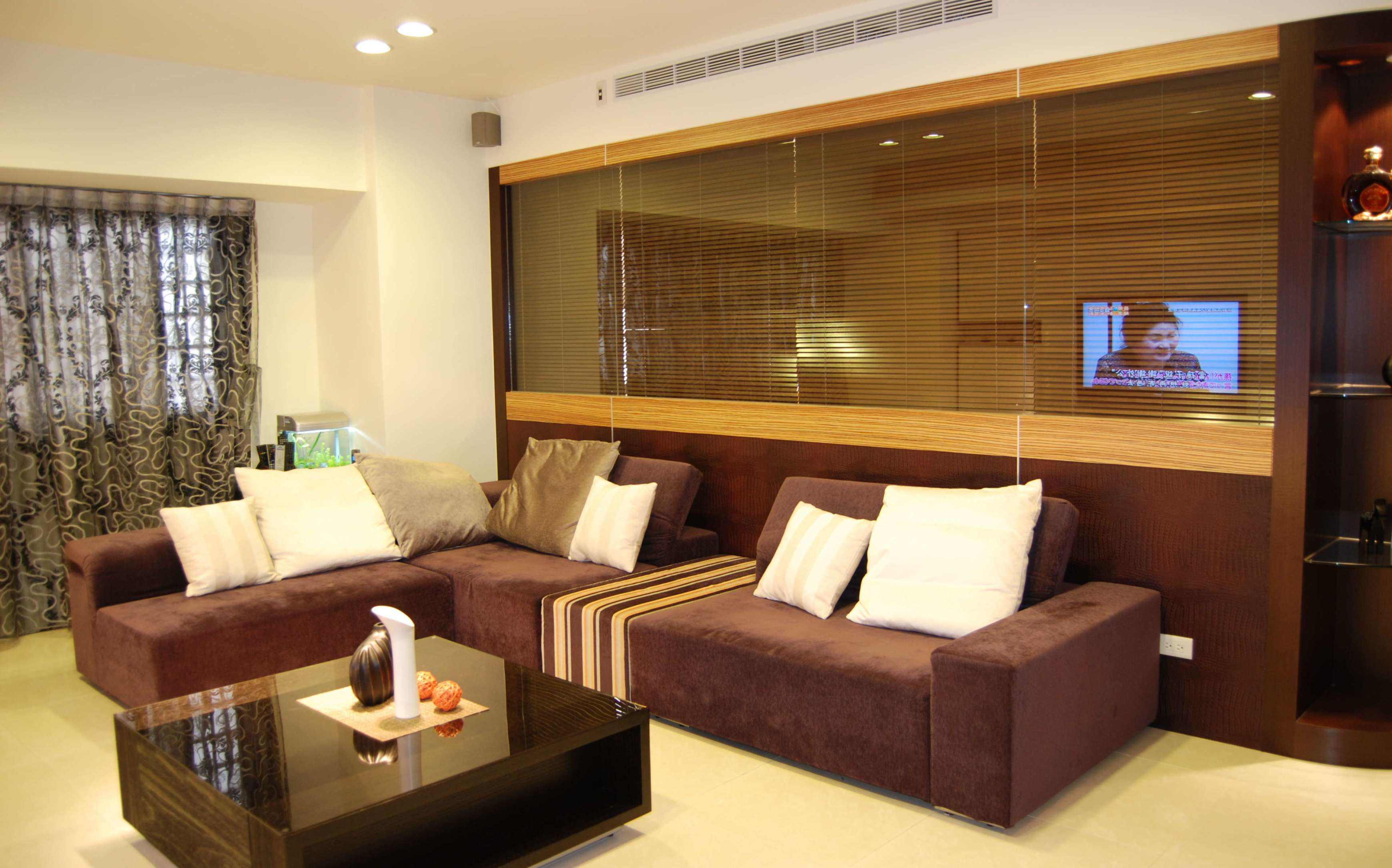 时尚简约家居沙发装饰效果图