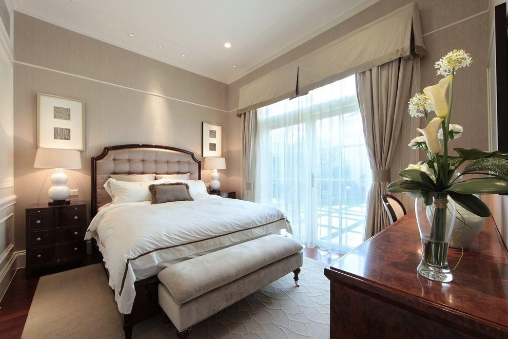 简约优雅欧式卧室效果图