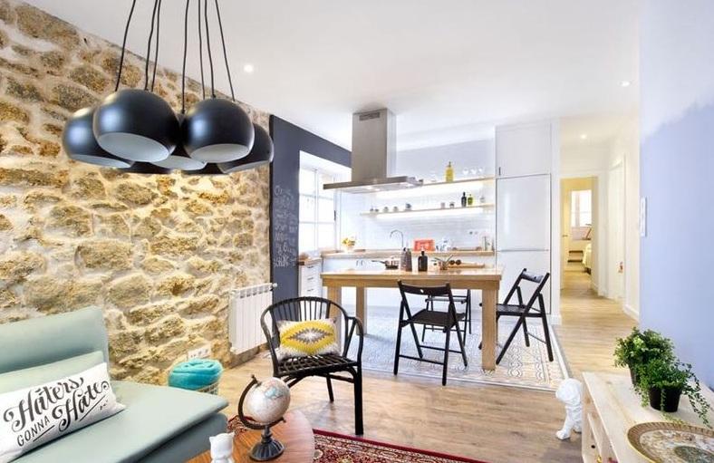 简约田园设计一居室家装图片