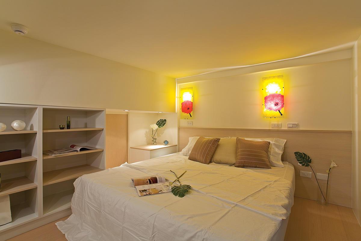 温馨简约宜家设计卧室效果图大全