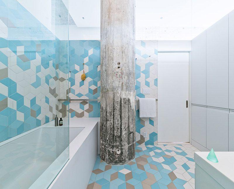 清爽简约公寓浴室设计装修图