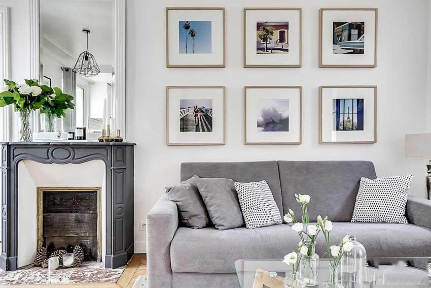 78平清新优雅欧式宜家风格二室一厅装修图