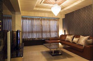 8萬元打造現代精美三居室裝修案例