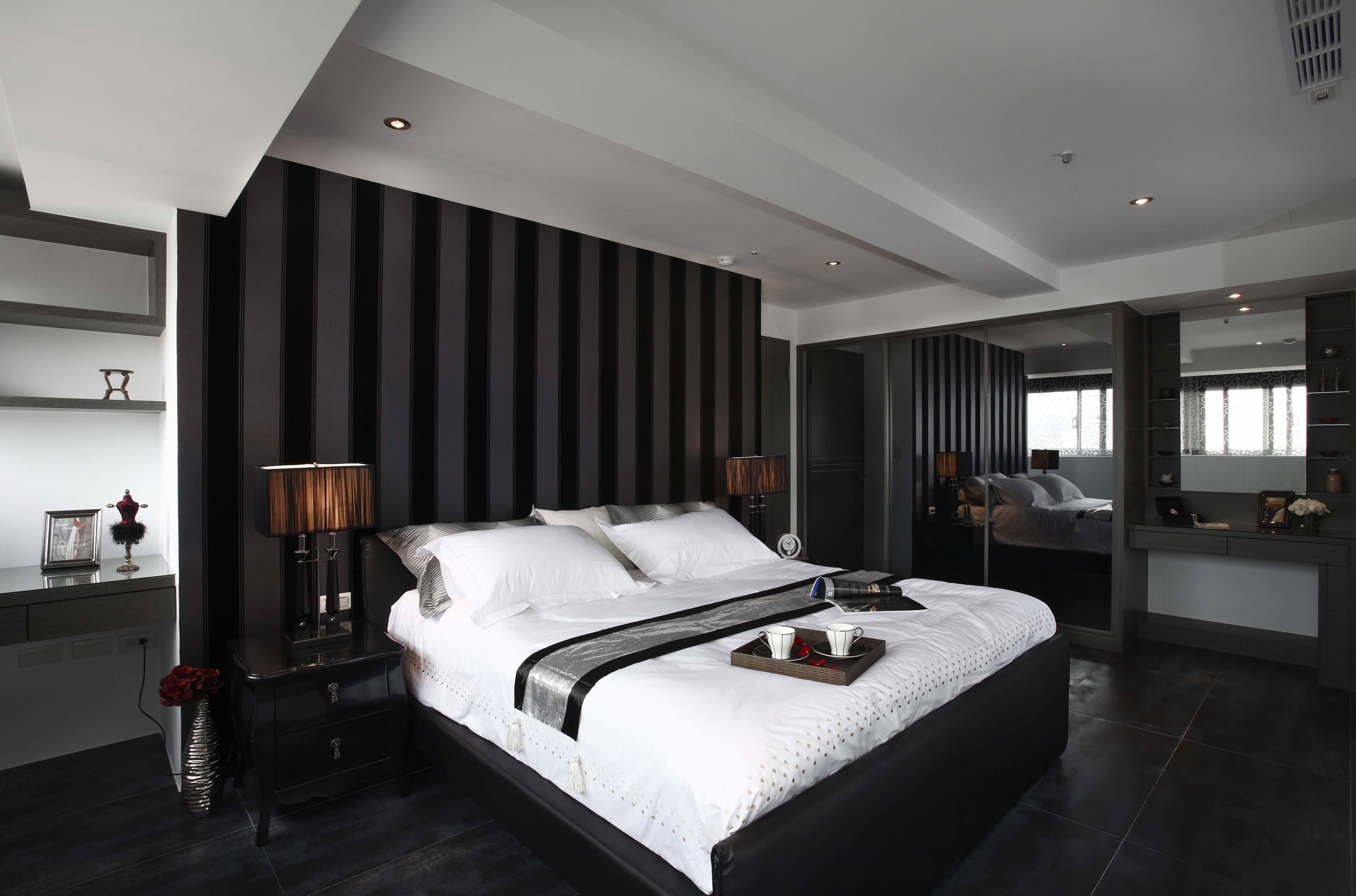 现代时尚风韵三居主卧室装修设计图