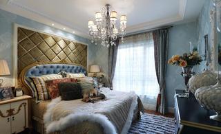 高贵奢华欧式风格卧室软装设计搭配图