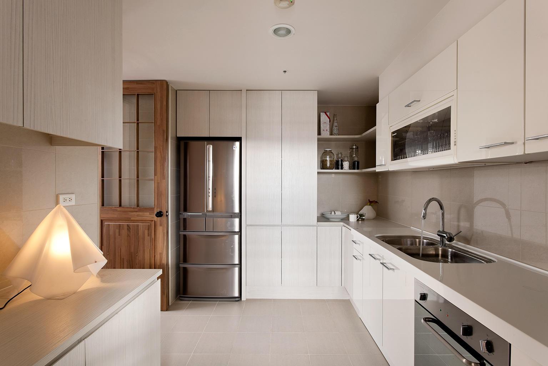 简约现代装修风格厨房设计装修欣赏图片