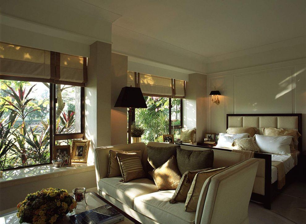 浪漫舒适简欧风格主卧室设计装修图