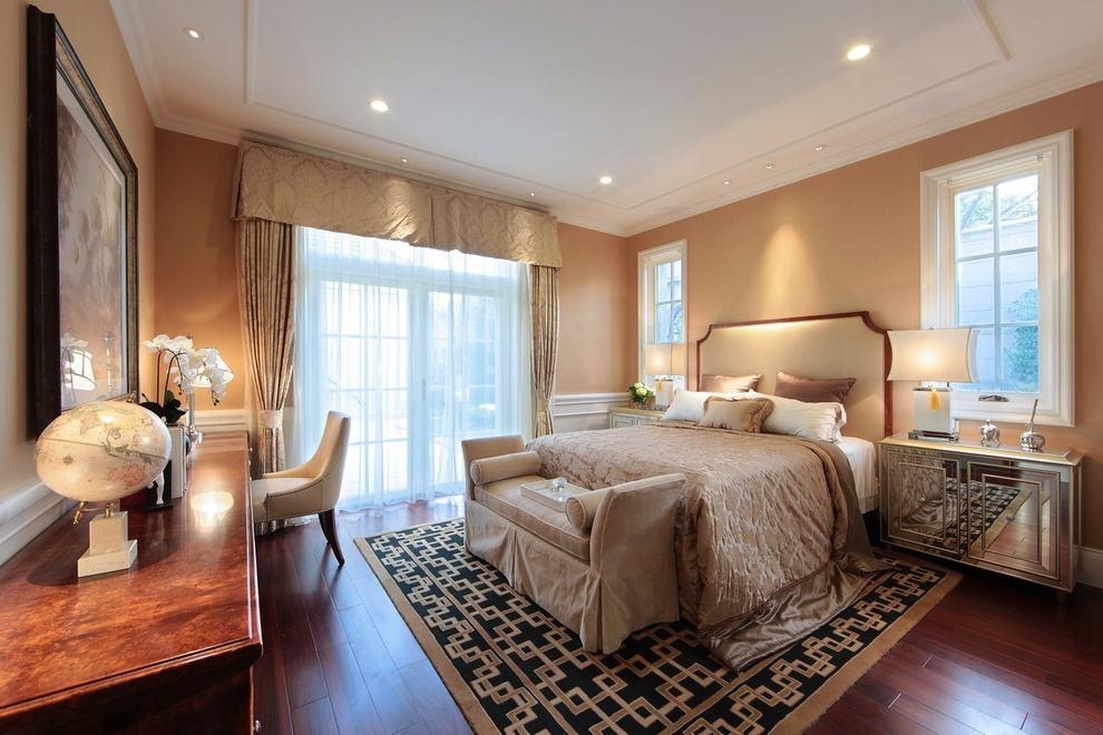 温馨唯美欧式卧室效果图