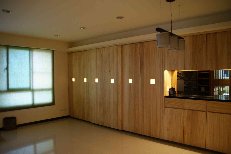 日式和风家居原木柜子装饰设计
