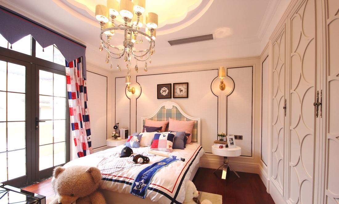 时尚温馨欧式风格儿童房设计装修欣赏图