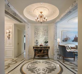 精美古典巴洛克欧式风格玄关装饰大全