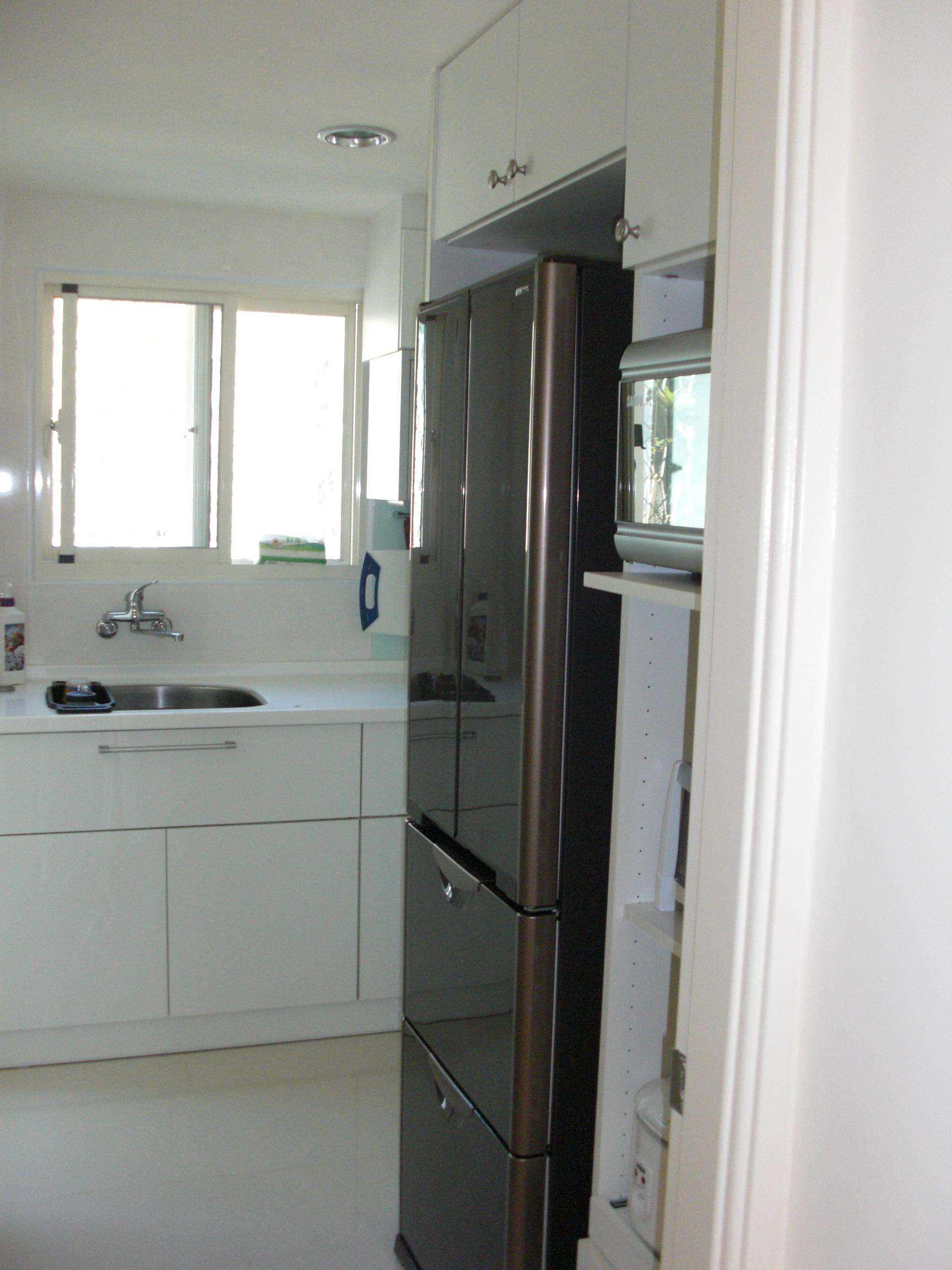 经典简约风格单身公寓简易厨房设计